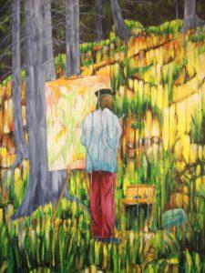 Aymeric Dechamps AyDe - Le Peintre au Travail