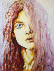 Portrait de jeune fille - Aymeric Dechamps